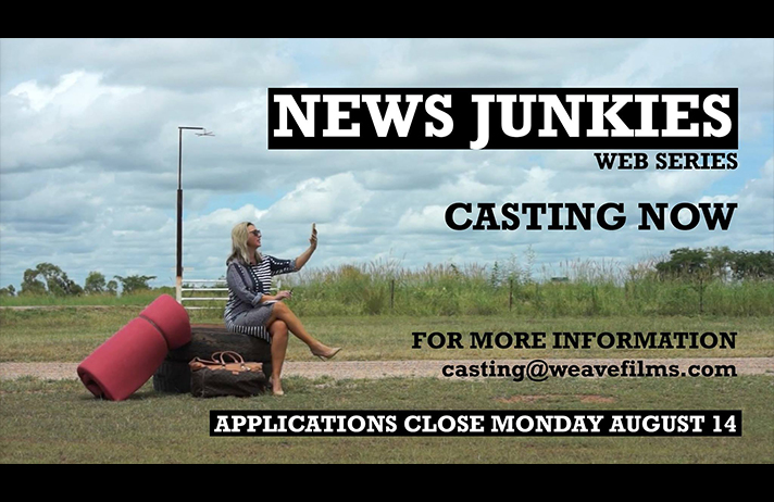 Casting for comedy series News Junkies